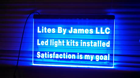 Lites by James LLC LED kits installed satisfaction is my goal